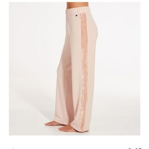 Calia velvet wide leg pants